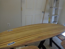 4/20/16 - The board is ready for varnish.