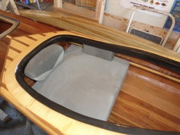 5/1/16 - The super comfortable Redfish seat is wedged into place.
