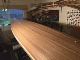 10/9/16 - Stripping of the hull is done!