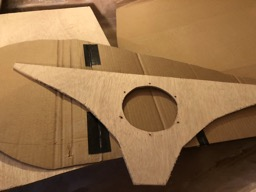 The aft bulkhead is cut out.