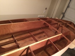 12/10/13 - The entire interior is coated in epoxy. There is one compartment that got missed, but was covered later!