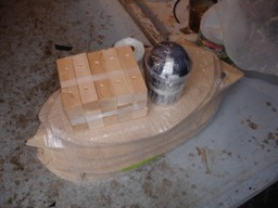 10/15/07 - I picked up the kit today and have started construction.  Here are the forms.