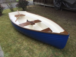 The boat is finished!