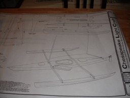 7/29/08 - A view of the plans from CLC.